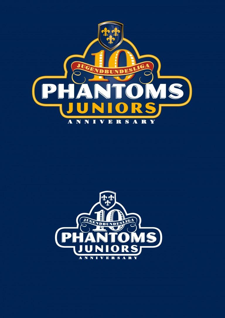 Phantoms_Juniors_10Logo_Wht